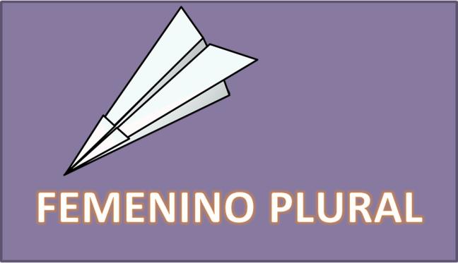 FEMENINO PLURAL